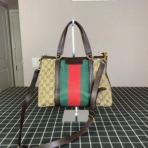 Gucci GG logo Signature Strap Shoulder Bag